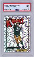 Aaron Rodgers 2018 Panini kaboom! #K-AR Green Bay Packers kaboom PSA 9