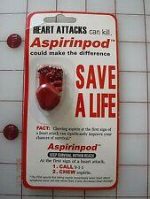 Pill Box Aspirinpod Just Place a Aspirin into and take anywhere/ Be prepared NIP