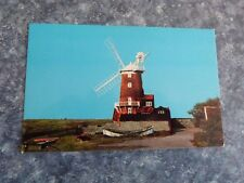 VINTAGE TOWER MILL CLEY NEXT THE SEA NORFOLK POSTCARD