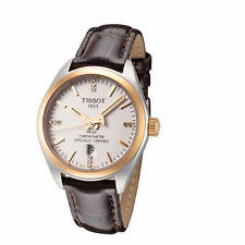 Tissot Women's T1012512603600 PR 100 Classic 33mm Silver Dial Leather Watch