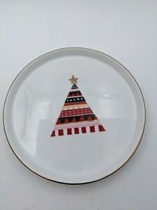 """Project 62 Porcelain 7"""" Christmas Tree Plate Replacement Target"""
