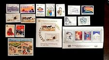 United Nations Vienna, complete years 1985 & 1986 MNH  48-66