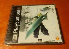 Final Fantasy VII Sony PlayStation 1 PS1 Squaresoft