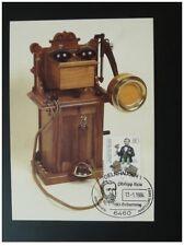 postal history telephone Philipp Reis maximum card Germany ref 083-28