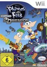 Nintendo Wii +Wii U Phineas und Ferb Quer durch die 2te Dimension Neuwertig