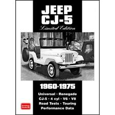 JEEP CJ-5 EDIZIONE LIMITATA 1960-1975 BOOK LIBRO