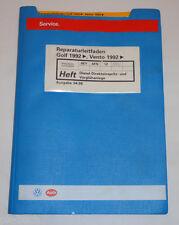Werkstatthandbuch VW Golf III / Vento Diesel Vorglühanlage Einspritzanlage 1996