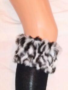 Boot Socks. Cotton Rich. Fur trimmed, warm winter