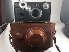 Vintage Argus Brick C3 35mm Film Camera with Leather Carrying Case