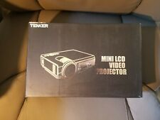 Tenker Q5 Mini LED Projector - Black