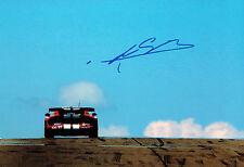 Marc GOOSSENS SIGNED 12x8 Photo AFTAL Autograph COA Dodge Viper Driver