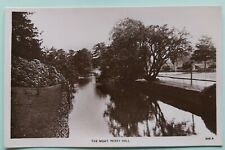 The Moat Perry Hall - original RP postcard Proctor series