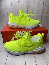Nike React Presto Volt Gum White AV2605-702 Mens Running Shoes Lightweight New