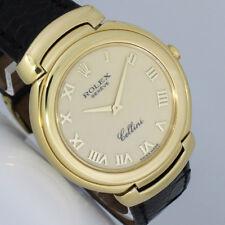 ROLEX CELLINI GOLD 37mm UHR Ref. 6623