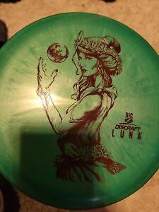 Discraft Big Z Luna Paul Mcbeth Disc Golf Putter 173-174g, New Disc Golf Disc