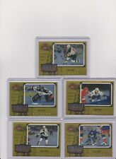 Set of 5 1997-98 Donruss Canadian Ice Stanley Cup Scrapbook