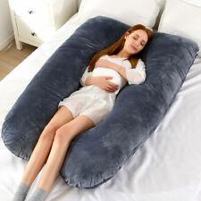 Womens U Shaped Maternity Pregnancy Pillow Nursing/Feeding Boyfriend Body/Pillow