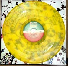 LED ZEPPELIN III - 3, TRANSPARENT MARBLED YELLOW COLORED VINYL LP  IMPORT