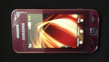 Samsung  Star GT-S5230 LaFleur - Granat Rot (T-Mobile) Smartphone