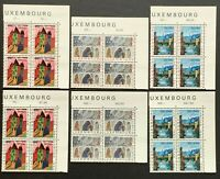 Luxembourg. National Welfare Fund in a BLOCK of 4. SG750/55. 1964. MNH. (MSC742)