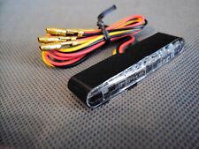 Motorrad mini Rücklicht  Rückleuchte + Bremslicht LED Highsider E-geprüft neu