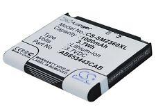 AB603443AA  Battery for Samsung SGH-A700  SGH-A707  SGH-A171  SGH-A727  SGH-Z560