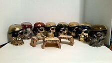 Mega Bloks Pirates of the Caribbean Skulls Playset Lot Of 8