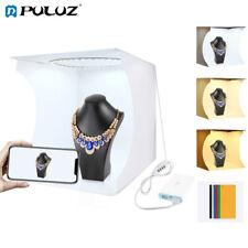 PULUZ Folding Portable Ring Light Photo Lighting Studio Shooting Tent Box Kit