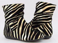 Women Boots Ankle High Comfort Fashion Zebra Leopard Design