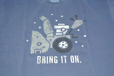 NWT Life is good Crusher Shirt Men's Medium Bring It On Snowblower Shirt