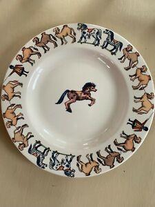 """Emma Bridgewater National Trust Victorian Nursery 8.5"""" Plate - Used 1st see des"""