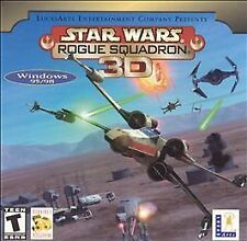 Star Wars Rogue Squadron 3D Video Game - CD Rom Windows 95/98