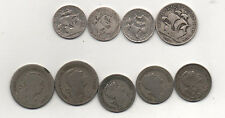 Portugal 4 silver coins 1933 1940 1943 1947  plus scarcer dates 1927 1928 1929