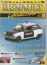 R5  5 police fascicule Booklet Revue voiture RENAULT M6