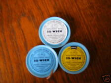 Solder braid blue yellow white