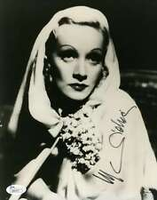 MARLENE DIETRICH JSA HAND SIGNED 8X10 PHOTO AUTHENTICATED AUTOGRAPH