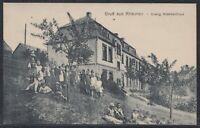 TRI 37844) AK Gruß aus Rhaunen Evang. Krankenhaus ca. 1910 Kr. Birkenfeld
