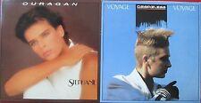 "CD SINGLE - STEPHANIE ""OURAGAN"" / DESIRELESS ""VOYAGE VOYAGE"""