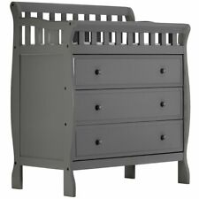 Dream  00006000 On Me Marcus Baby Changing Table in Storm Gray