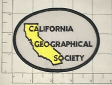 California Geographical Society Patch