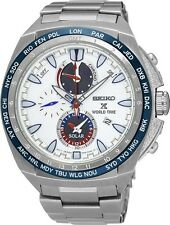 Seiko SSC485 SSC485P1 Prospex Mens Solar Alarm World Time Watch RRP $950.00
