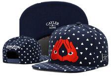 Hip Hop Mens CAYLER Sons Cap adjustable Baseball Snapback Street Blue hat 586#