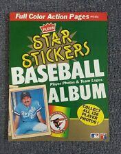 1984 FLEER STAR STICKERS BASEBALL PLAYER & PHOTOS TEAM LOGOS ALBUM COMPLETE 126