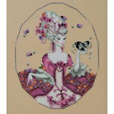 Duchess of Rouen Kit Cross Stitch Chart Beads Silk Floss Md168 Mirabilia