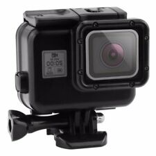 Dive Housing se ajusta GoPro HERO 5 6 7 Estuche Impermeable Submarina Negro