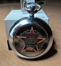 Molnia pocket watch with cal SU 3602
