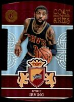 2016-17 Panini Excalibur Coat of Arms #10 Kyrie Irving