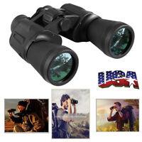 Black 10-50x100 HD Resolution Night Vision Super Zoom Binoculars US SHIP