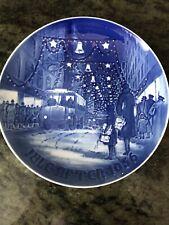 "1956 Jule After Bing & Grondahl 7"" Holiday Plate B&G B & G"