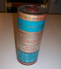 Vintage Hercules 2400 Smokeless Rifle Powder- One Pound Powder Can - Empty
